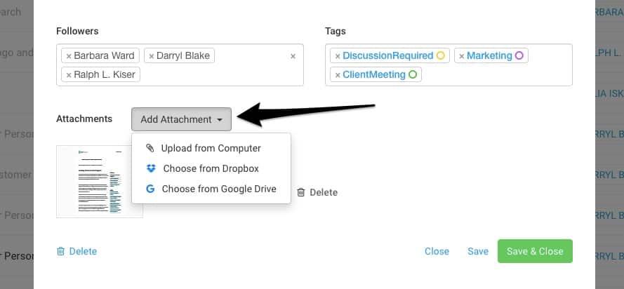Google Drive & Dropbox Integration